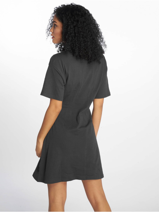 Cheap Monday Dress Conjured Defect Logo grey