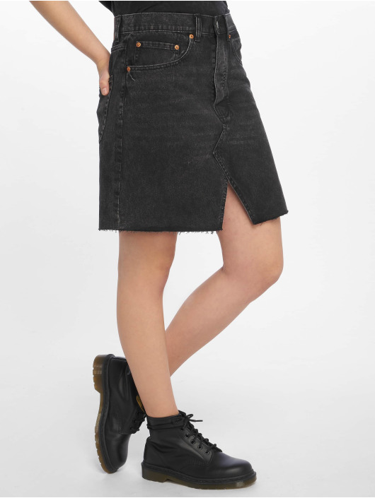 Cheap Monday Jupe Shrunken noir