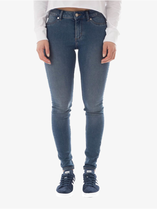 Cheap Monday Skinny Jeans Mid Spray blau