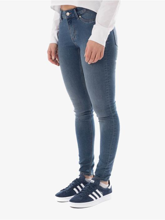 Cheap Monday Skinny Jeans Mid Spray blue