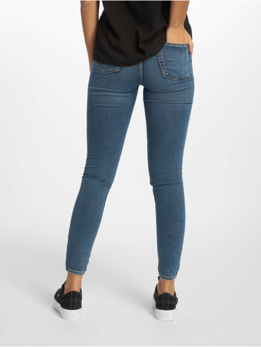 Cheap Monday Skinny Jeans High Spray Norm blue