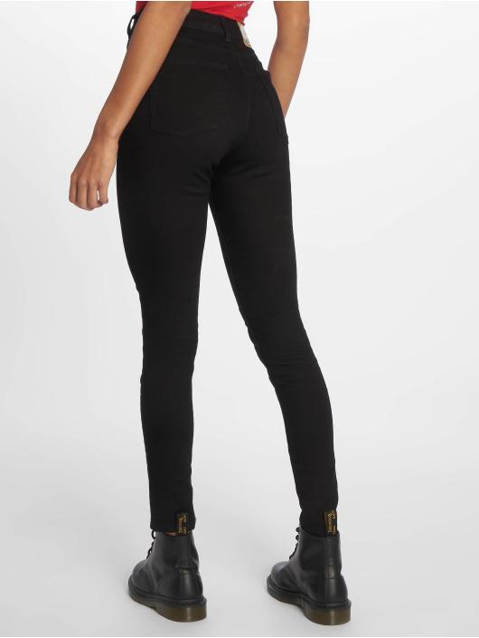 Cheap Monday Skinny Jeans Mid Spray czarny