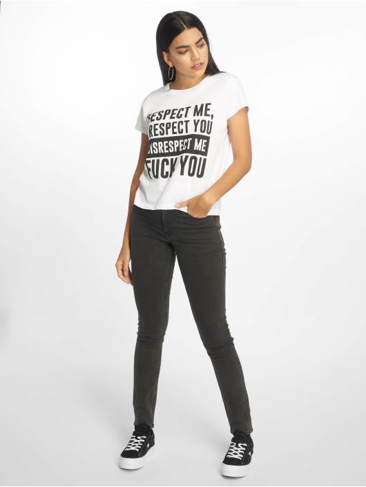 Cheap Monday Skinny Jeans Tight Key czarny