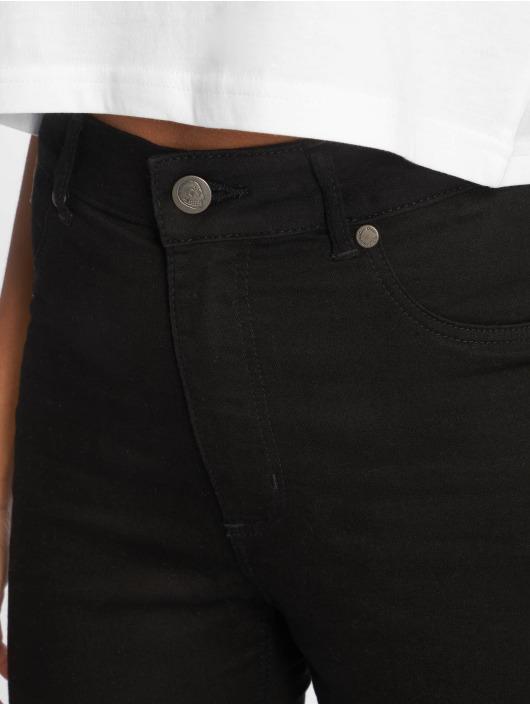 Cheap Monday Skinny Jeans High Spray Cut czarny