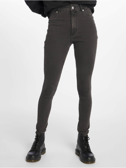 Cheap Monday Skinny Jeans High Spray grau