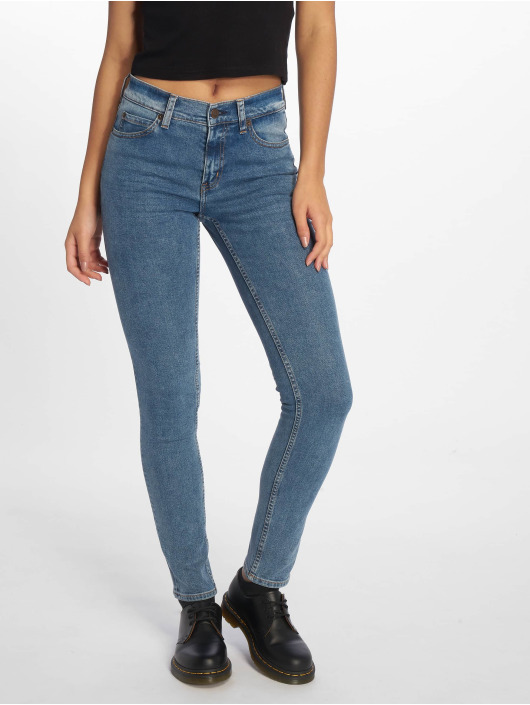 Cheap Monday Skinny Jeans Tight Norm Core niebieski
