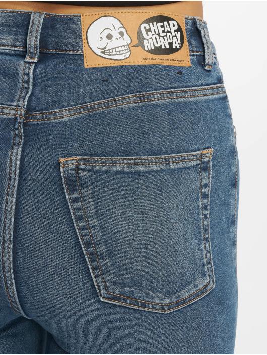 Cheap Monday Skinny Jeans High Spray Norm niebieski