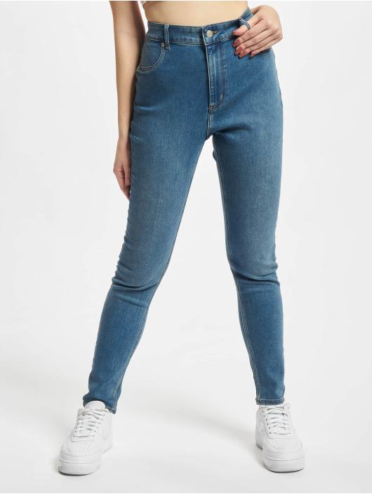 Cheap Monday Skinny Jeans High Spray niebieski
