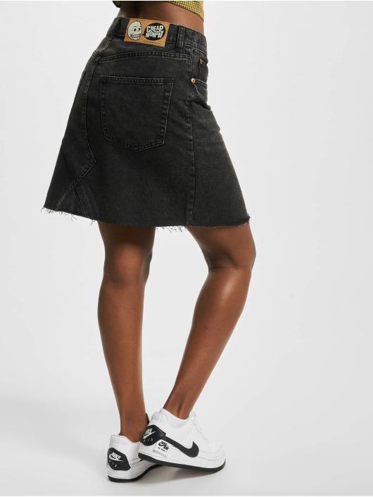 Cheap Monday Skirt Shrunken black