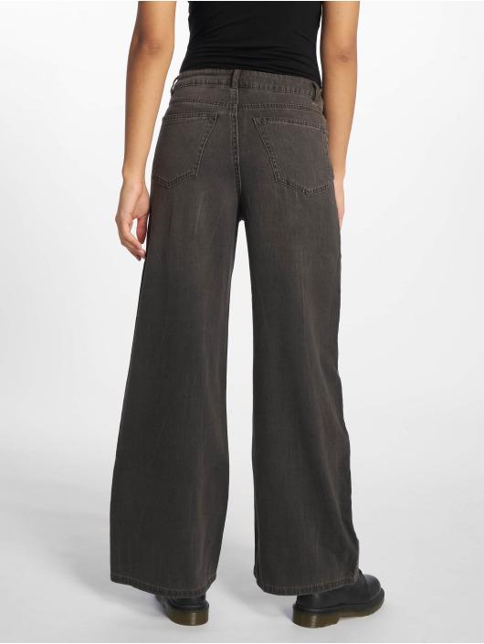 Cheap Monday Spodnie wizytowe Ideal Trousers Crinkle czarny