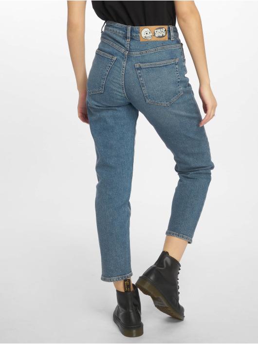 Cheap Monday Straight Fit Jeans Donna Norm Core blå