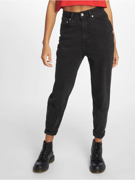 Cheap Monday Straight Fit Jeans Donna Friday black