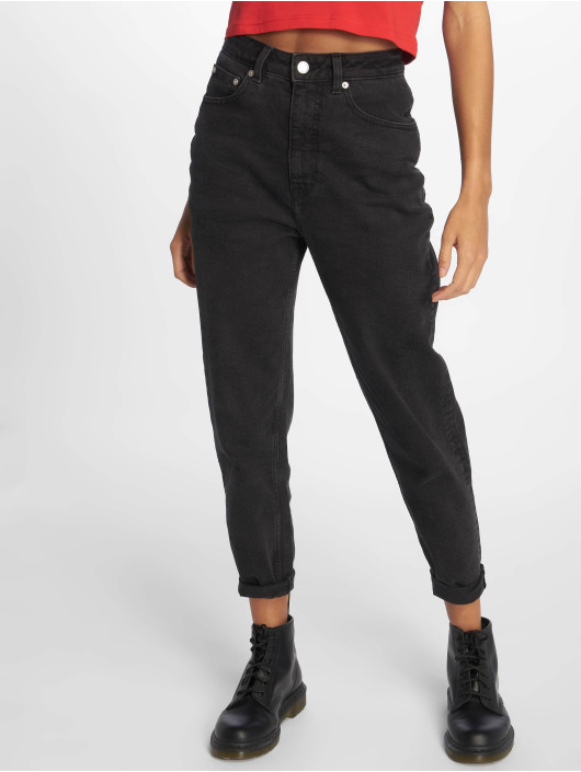 Cheap Monday Straight Fit Jeans Donna Friday schwarz