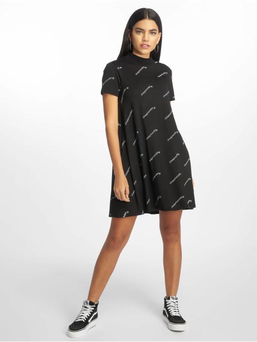 Cheap Monday Sukienki Mystic Web Logo czarny