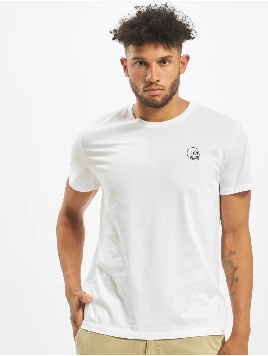 Cheap Monday T-Shirt Standard Tiny Skull weiß