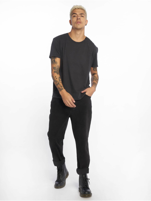 Cheap Monday T-skjorter Standard Skewed svart