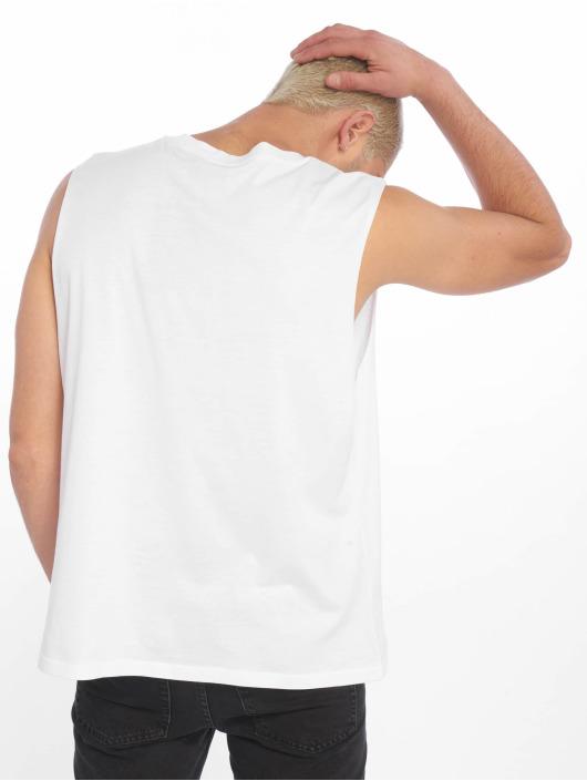 Cheap Monday Tank Tops Slack Speech Logo white