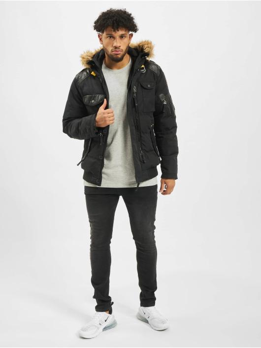 Cipo & Baxx Зимняя куртка Vintage черный
