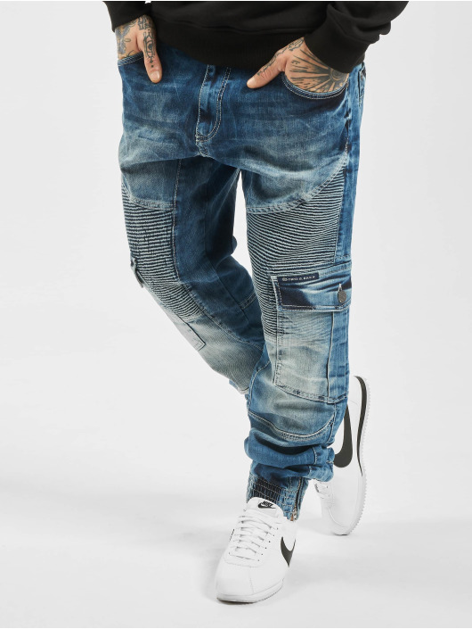 Cipo & Baxx Cargo Denim blue