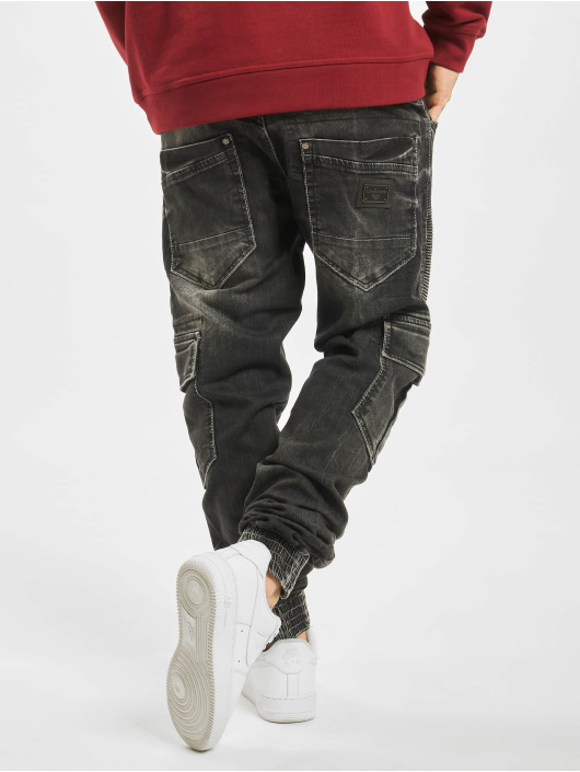 Cipo & Baxx Cargo pants Denim black
