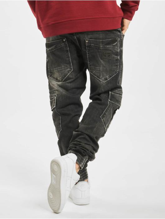 Cipo & Baxx Chino bukser Denim svart