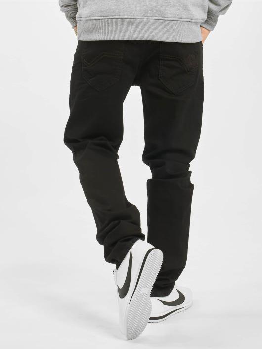 Cipo & Baxx Dżinsy straight fit Plain czarny