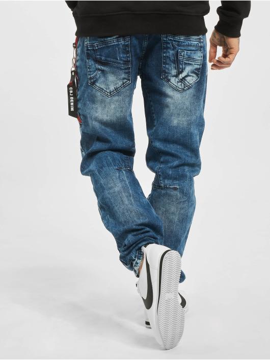 Cipo & Baxx Dżinsy straight fit Joe niebieski