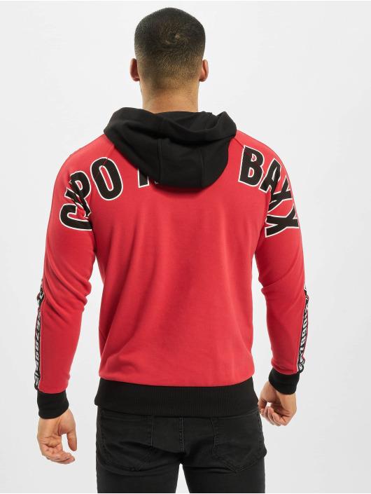 Cipo & Baxx Hoody Big Logo rood