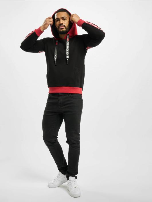 Cipo & Baxx Hoody Big Logo schwarz
