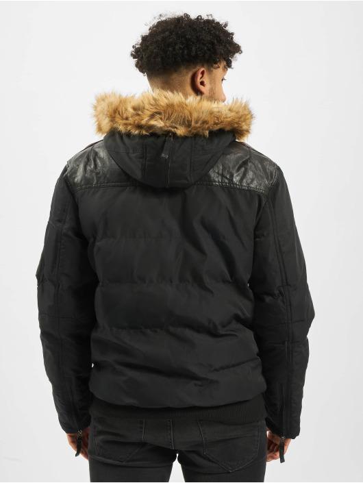Cipo & Baxx Kurtki zimowe Vintage czarny