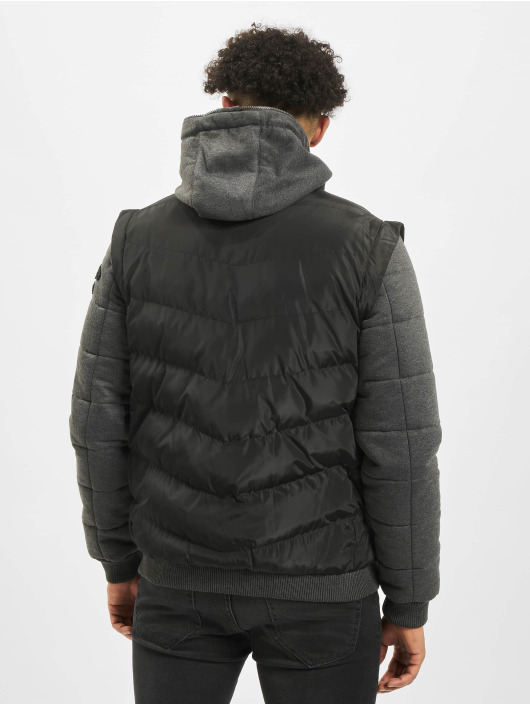 Cipo & Baxx Kurtki zimowe Vest czarny