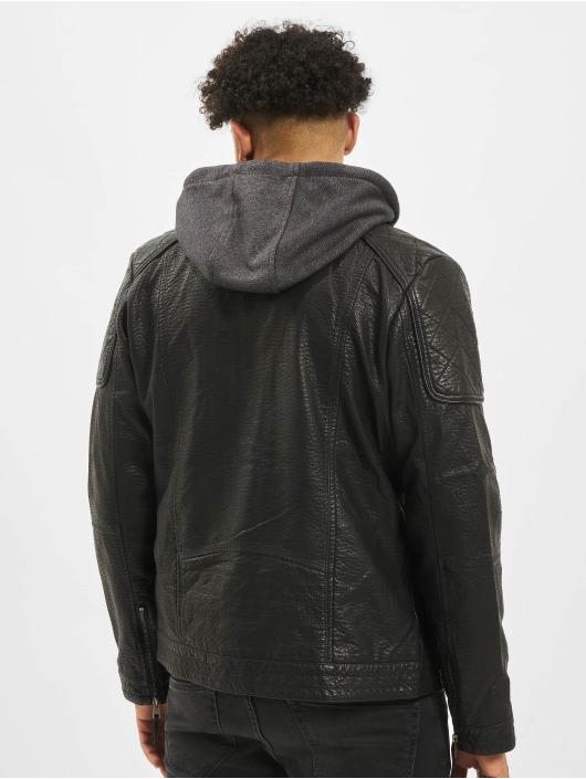 Cipo & Baxx Manteau hiver Jim noir
