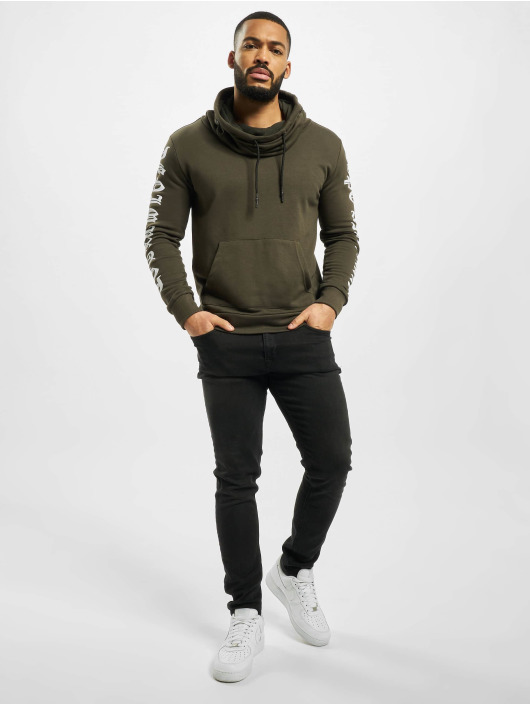 Cipo & Baxx Pulóvre Sweatshirt kaki