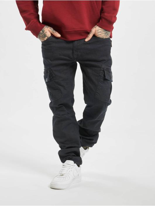 Cipo & Baxx Straight Fit Jeans Cargo blå