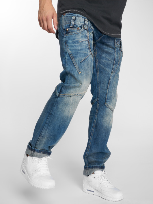 Cipo & Baxx Straight Fit Jeans Alpha blau