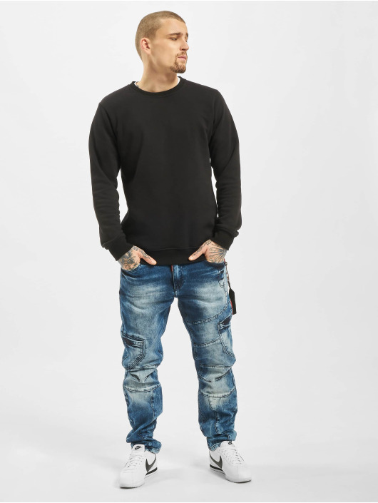 Cipo & Baxx Straight fit jeans Joe blauw