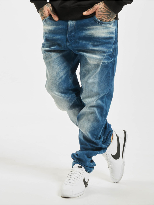 Cipo & Baxx Straight fit jeans Jason blauw