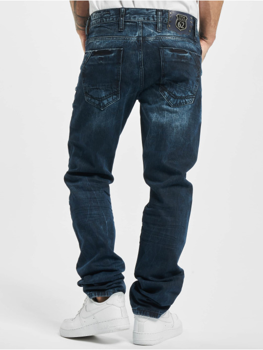Cipo & Baxx Straight fit jeans Emilio blauw