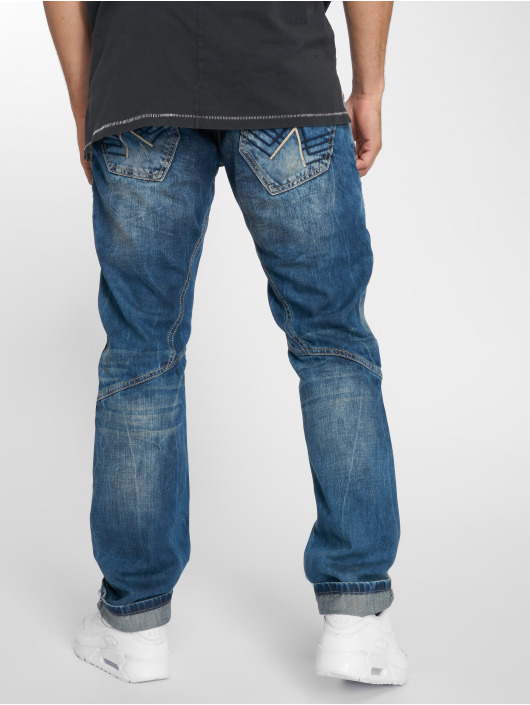 Cipo & Baxx Straight Fit Jeans Alpha blue