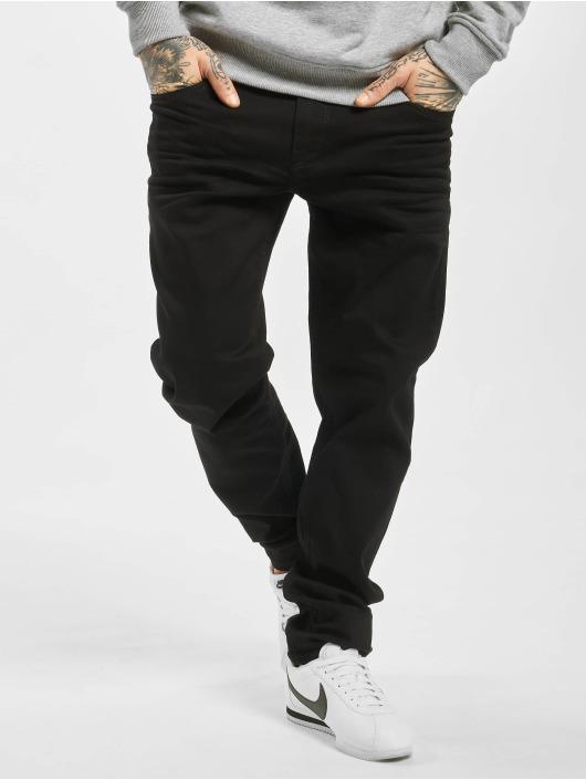 Cipo & Baxx Straight Fit Jeans Plain schwarz