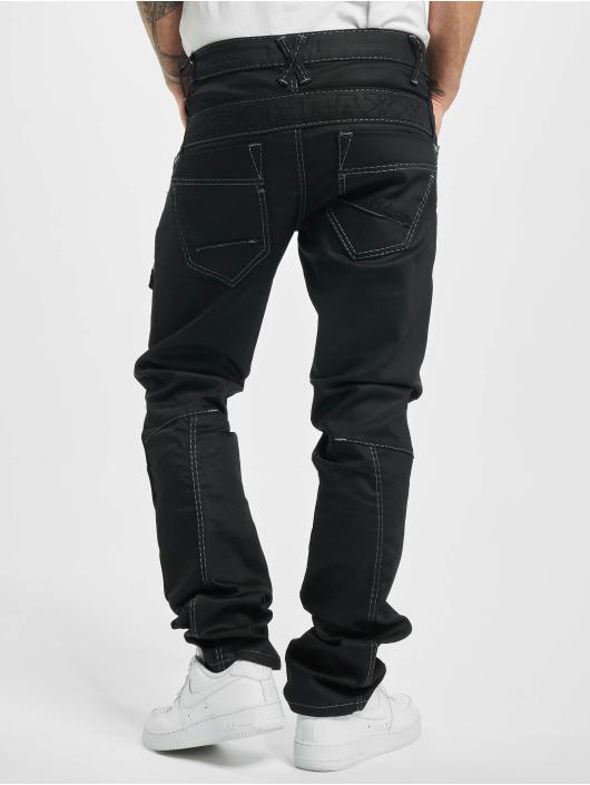 Cipo & Baxx Straight Fit Jeans Vincent schwarz