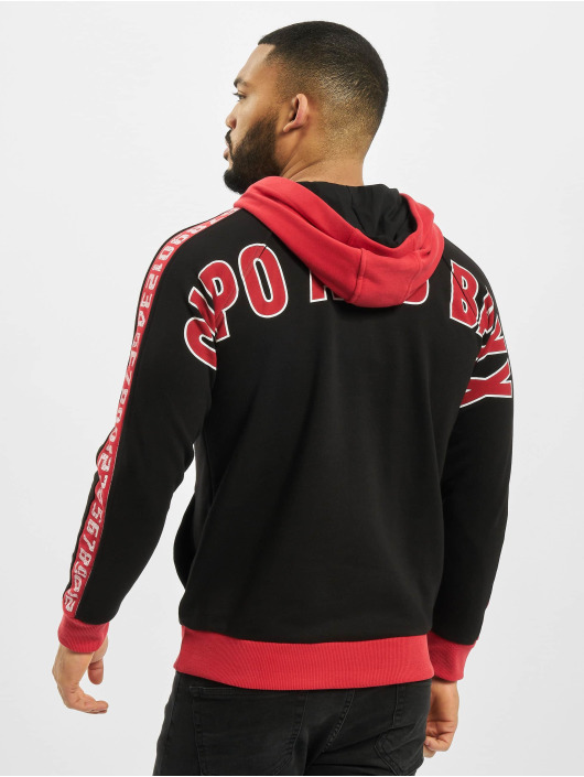 Cipo & Baxx Sweat capuche Big Logo noir