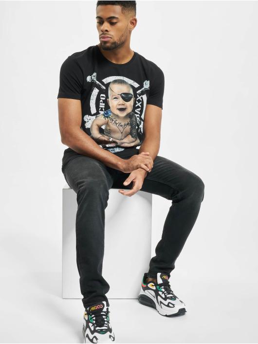 Cipo & Baxx T-Shirty Baby czarny