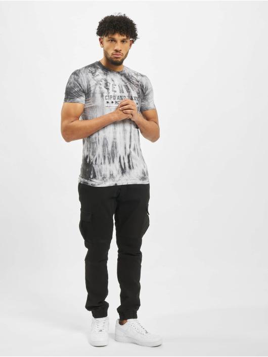Cipo & Baxx T-Shirty Star szary