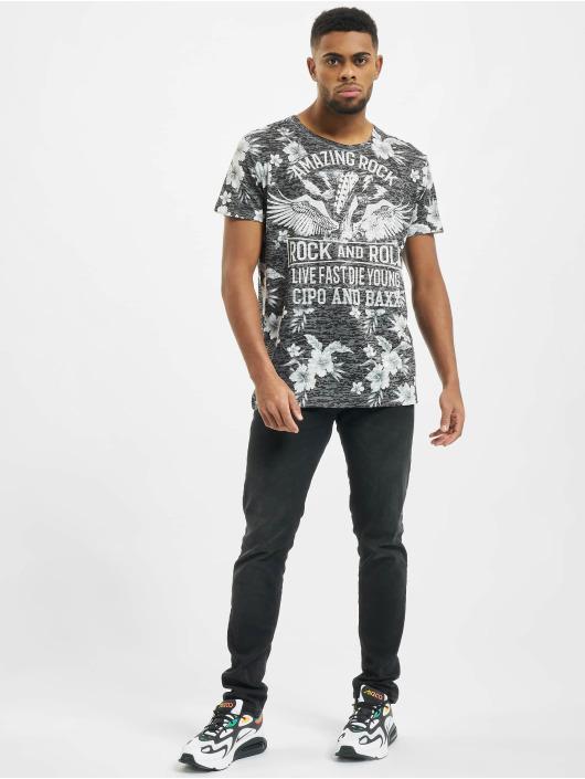 Cipo & Baxx T-Shirty Amazing Rock szary