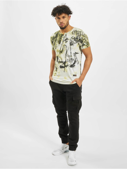 Cipo & Baxx T-Shirty Original zólty