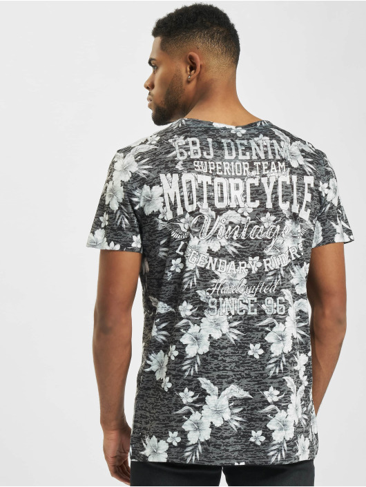 Cipo & Baxx T-skjorter Amazing Rock grå