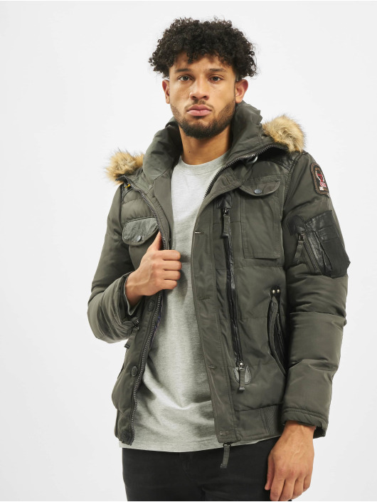 Cipo & Baxx Winter Jacket Bomber khaki