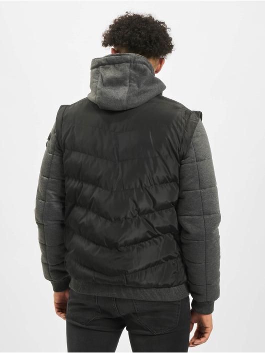 Cipo & Baxx Zimné bundy Vest èierna