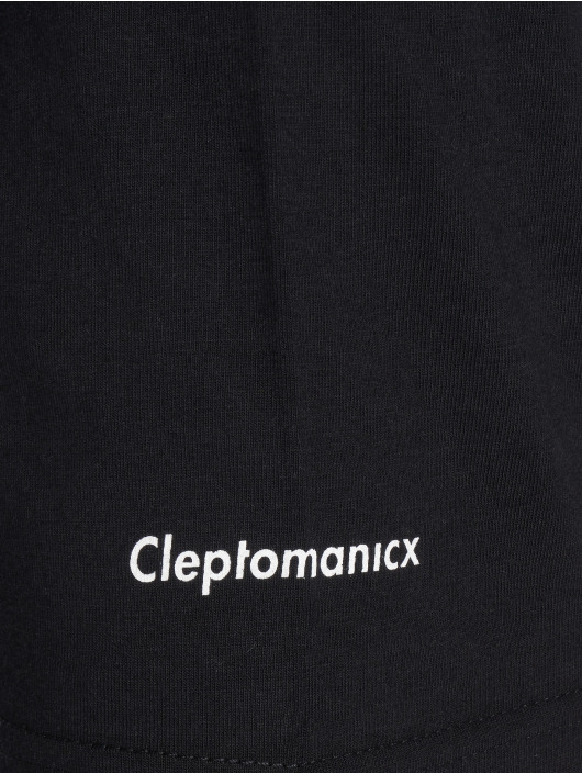 Cleptomanicx T-Shirt Mowe Basic schwarz